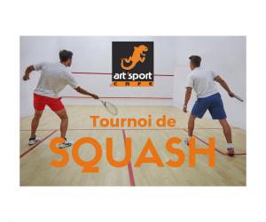 Tournoi de squash Art'Sport Café le havre