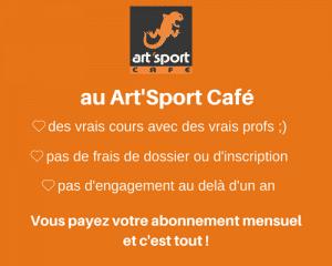 Tarifs sports Art'Sport Café