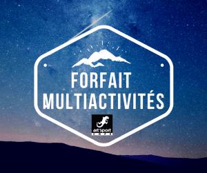 Forfait Multi activités