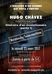 Projestion rencontre Hugo Chavez
