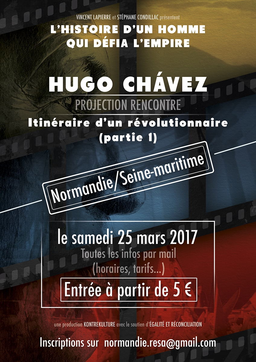 Projestion rencontre Hugo Chavez