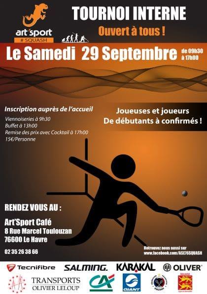 Tournoi de squash Le Havre