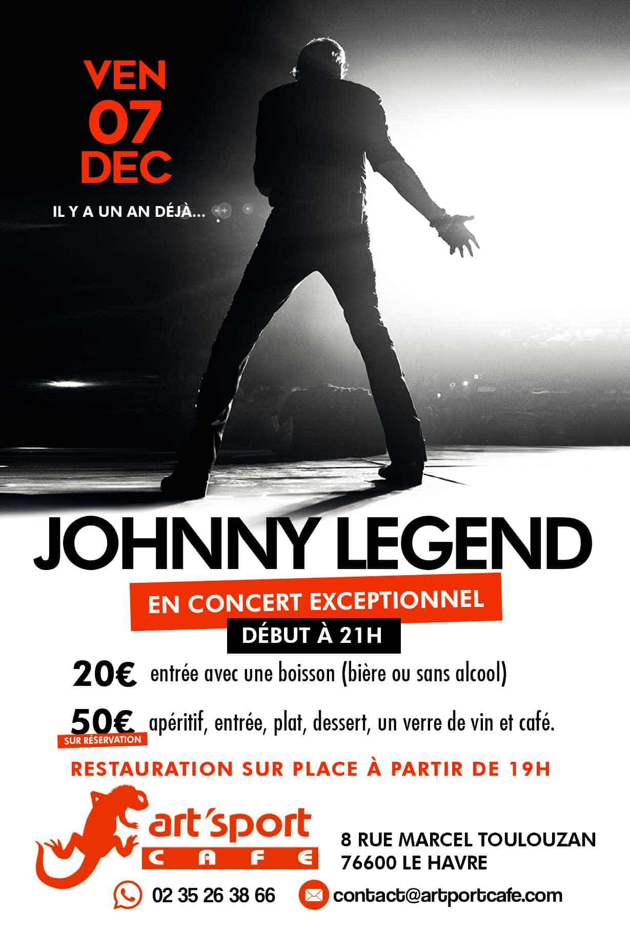 Johnny Legend 7 déc 2018